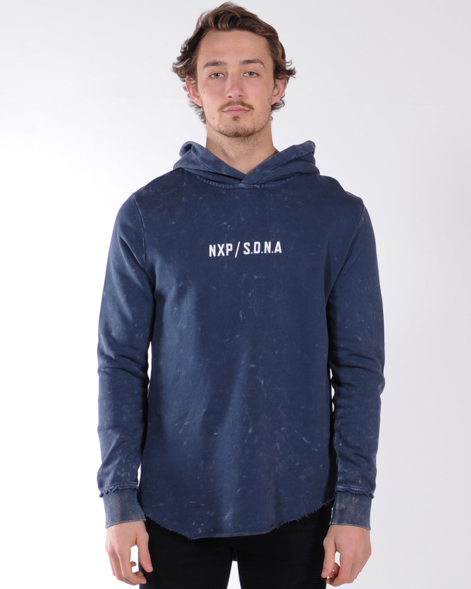 Nena & Pasadena Reckless Hood Sweat - Acid Navy