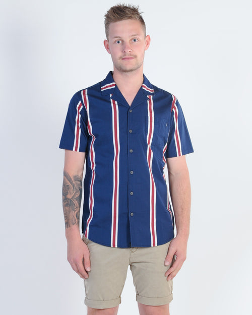 St. Goliath Moon S/S Shirt - Navy