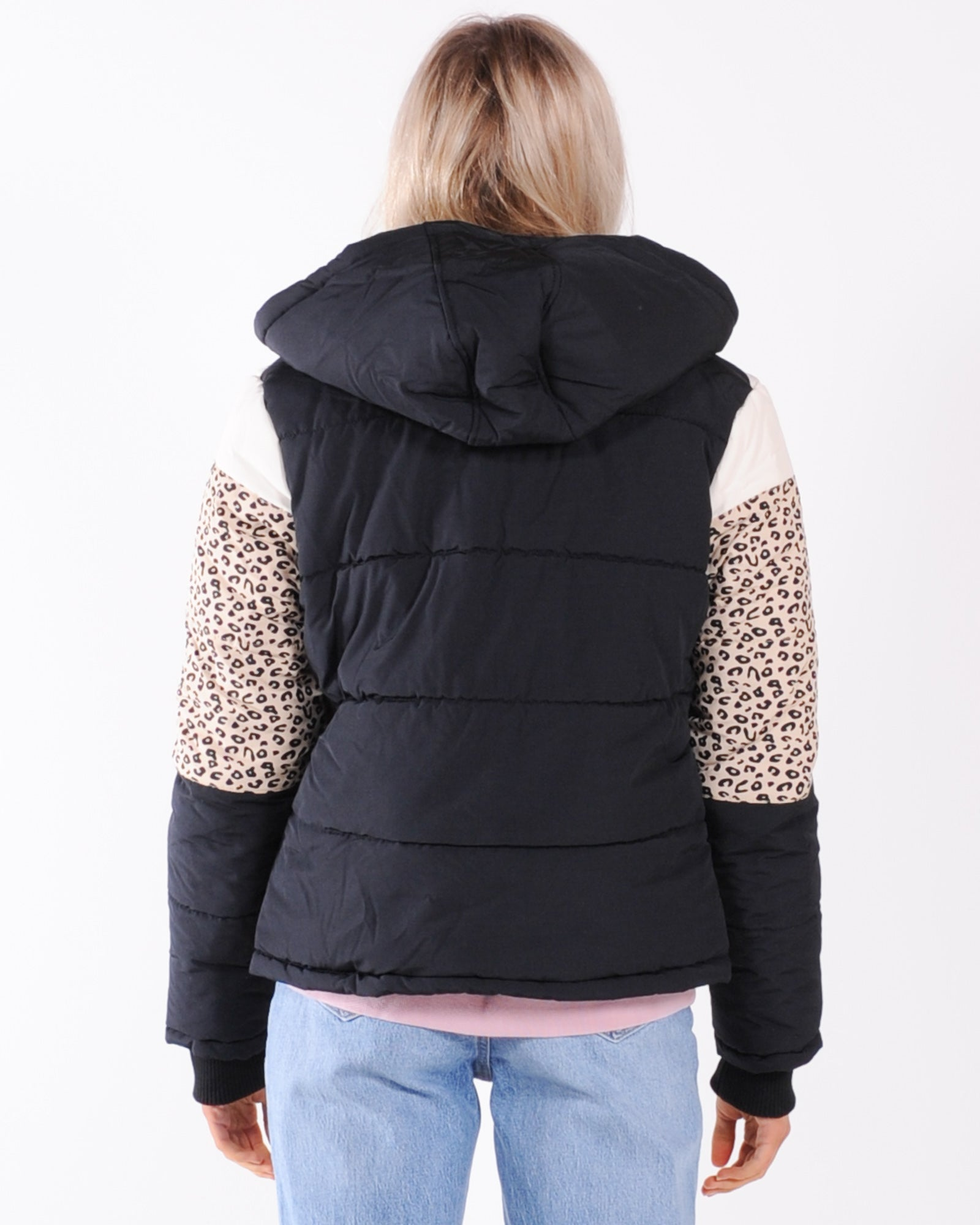 All About Eve Distinct Panel Puffer Jacket - Multi