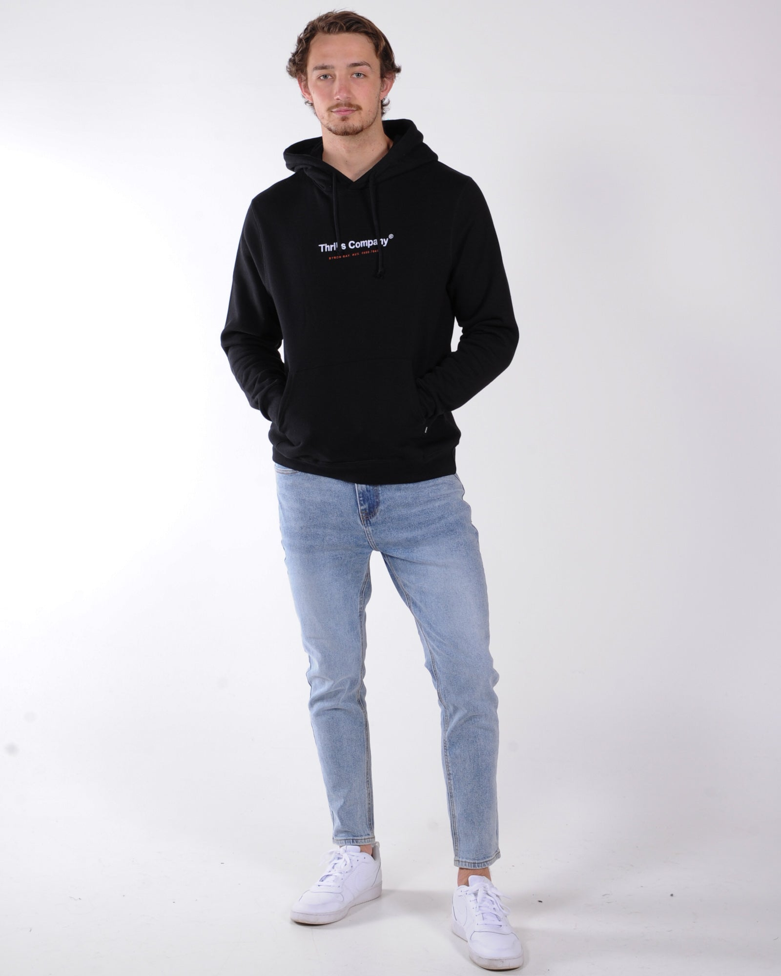 Thrills Found Hood Sweat - Black