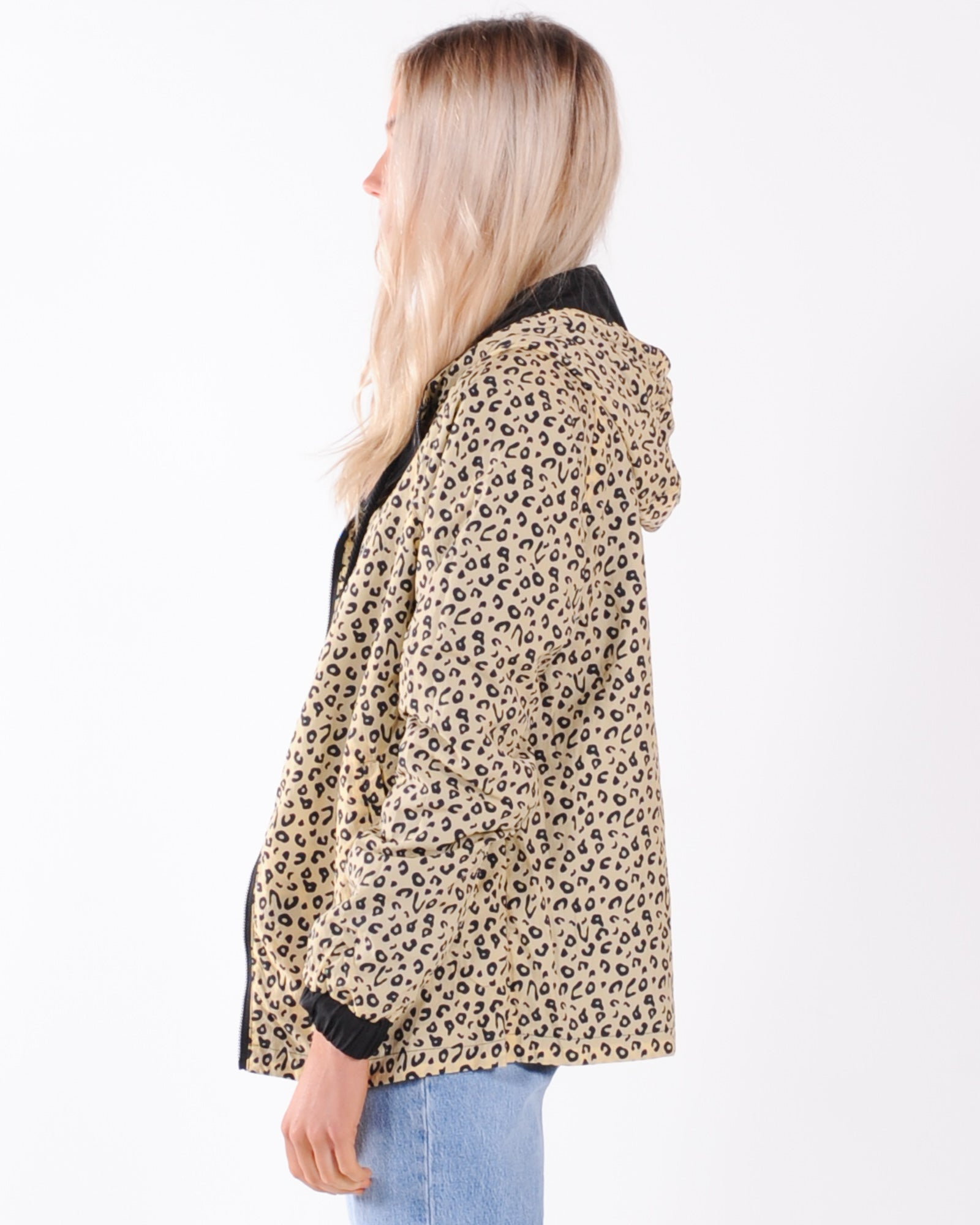 All About Eve Leopard Reversible Spray Jacket - Multi