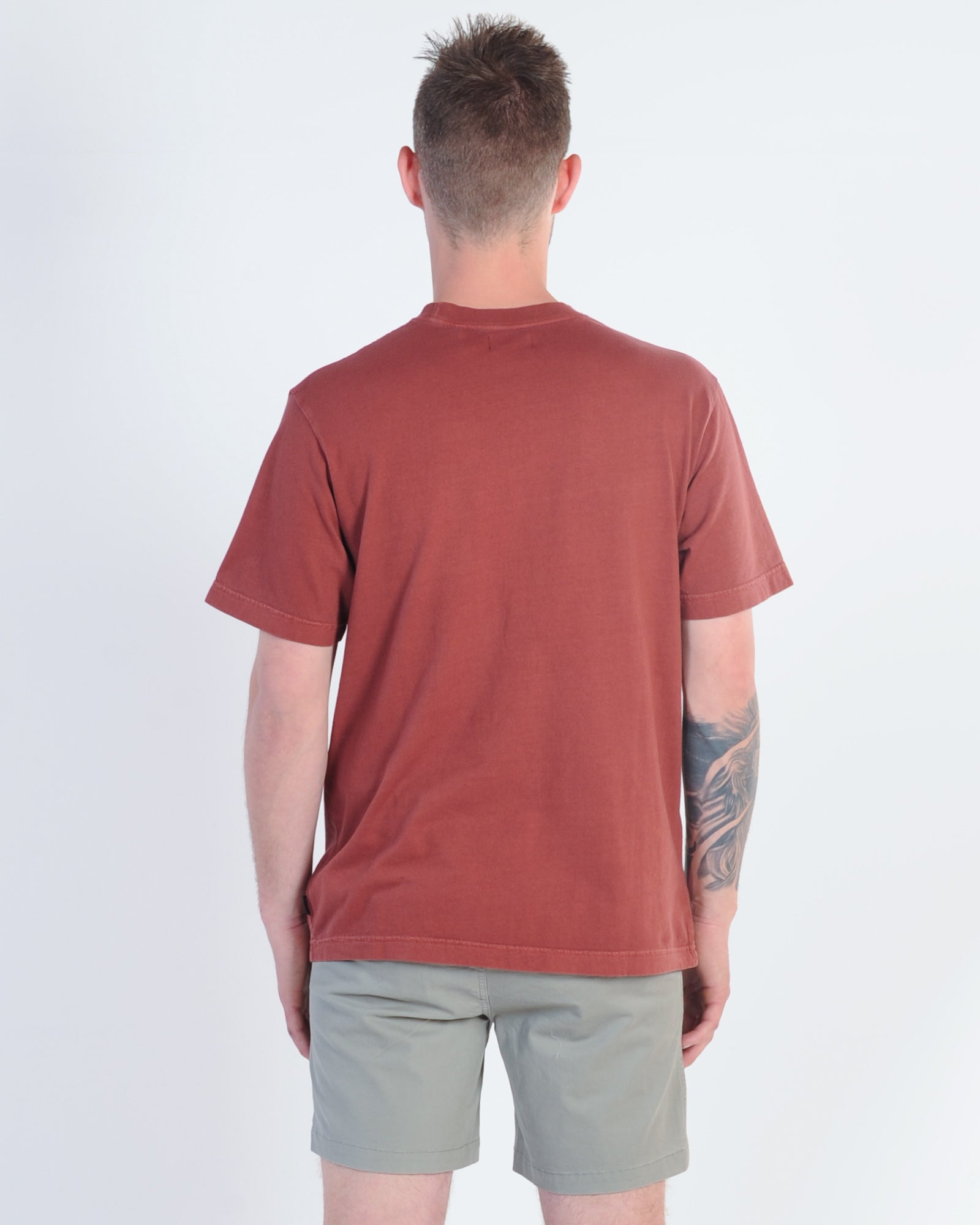 Afends Our Place Tee - Rojo