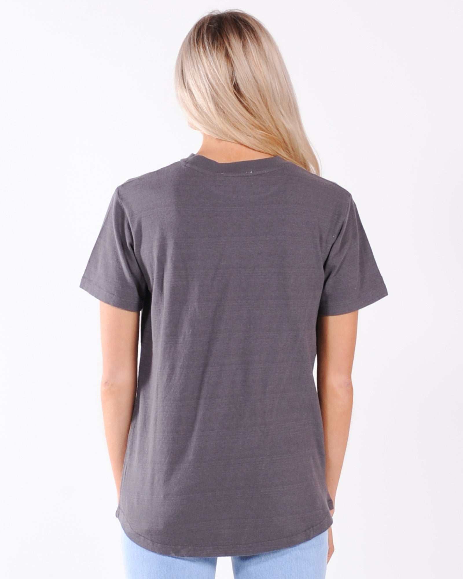 Jorge Ria Animal Tee - Washed Black