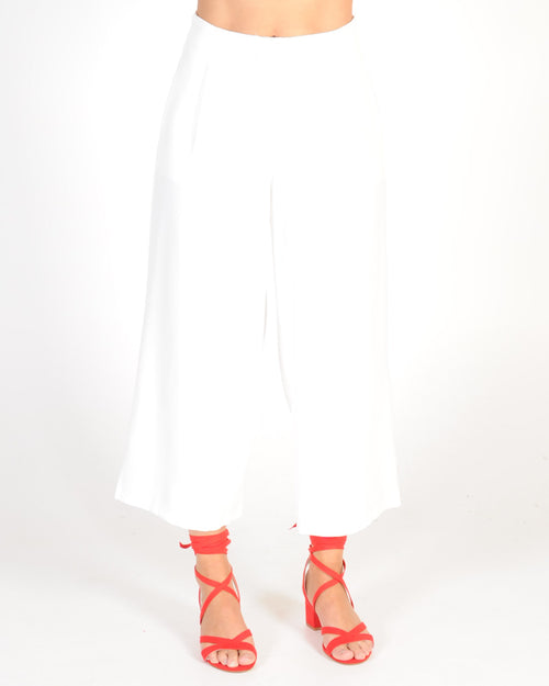 Back On Track Pant - White