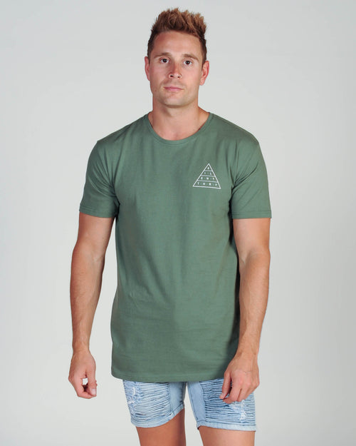 Silent Theory Top Of The Tee - Khaki