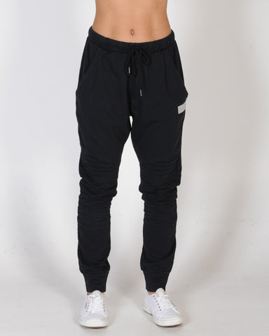 ALL ABOUT EVE WAVELL PANEL PANT - BLACK