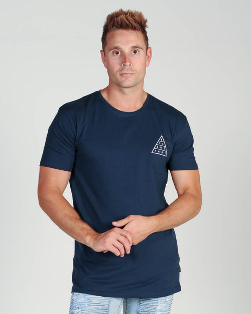 Silent Theory Top Of The Tee - Navy