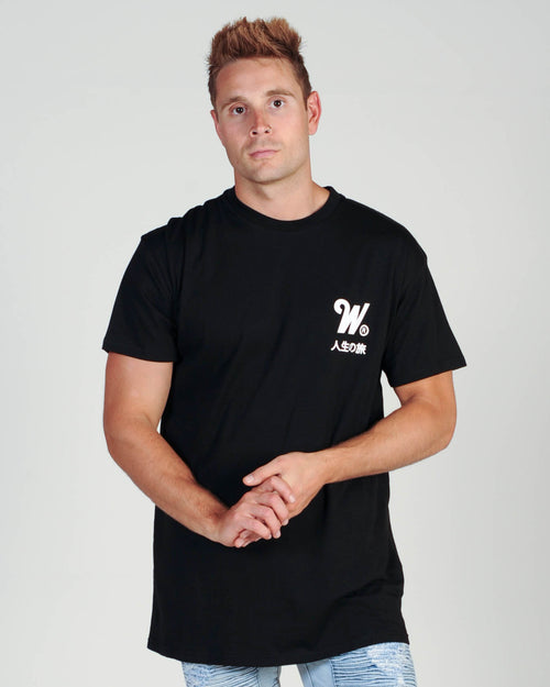 Wndrr Capital Custom Fit Tee - Black