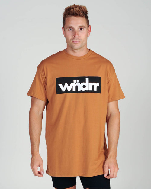Wndrr Accent Custom Fit Tee - Almond