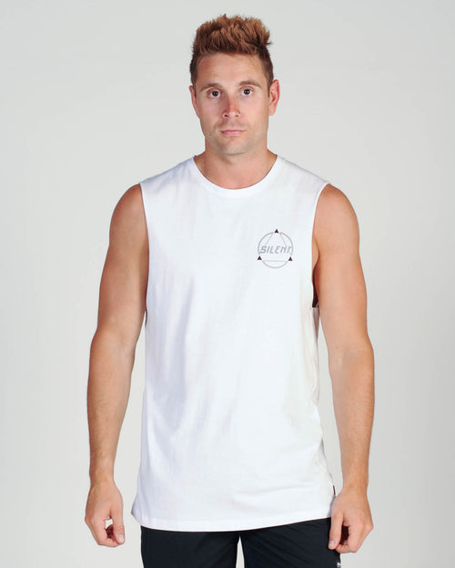 Silent Theory Magnetic Muscle Top - White