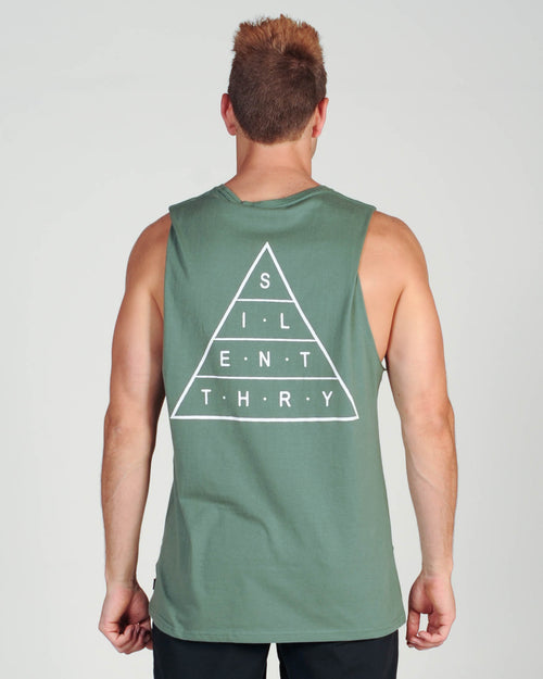 Silent Theory Top Of The Muscle - Khaki