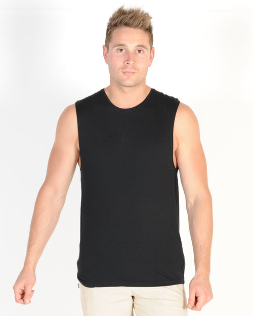 Silent Theory Standard Muscle Top - Black