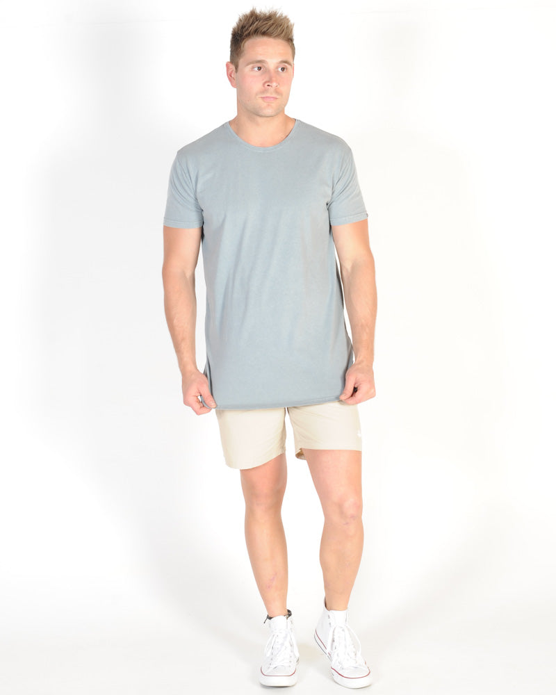 SILENT THEORY BASIC TEE - BLUE