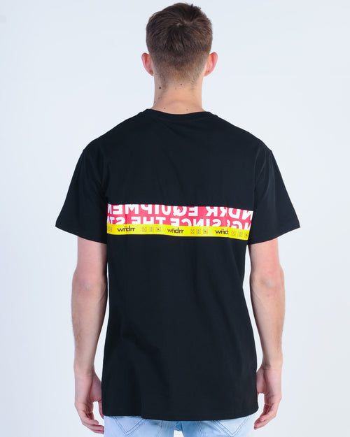 Wndrr Highline Custom Fit Tee - Black