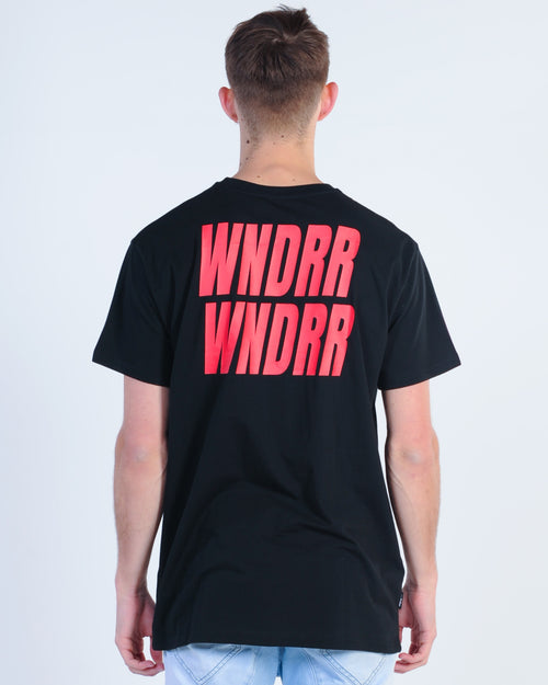 Wndrr Vandals Custom Fit Tee - Black