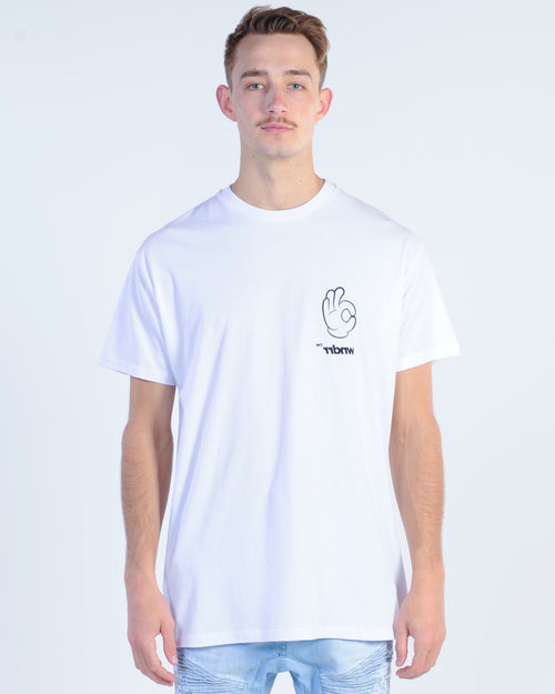 Wndrr Oh Kay Custom Fit Tee - White