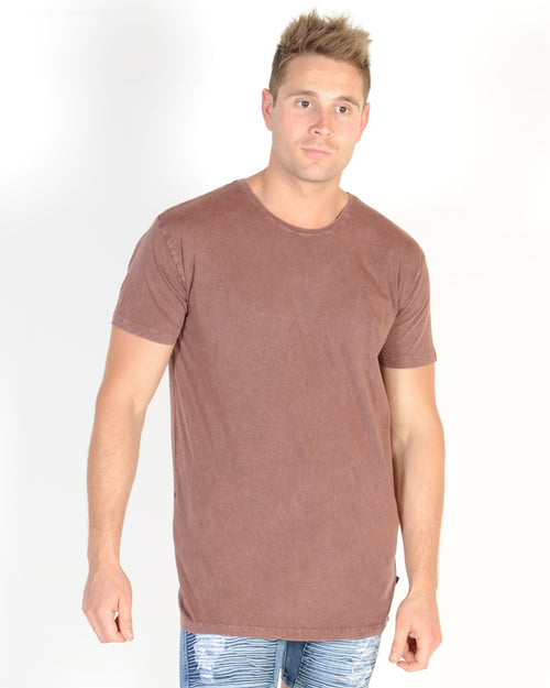 Silent Theory Basic Tee - Burgandy
