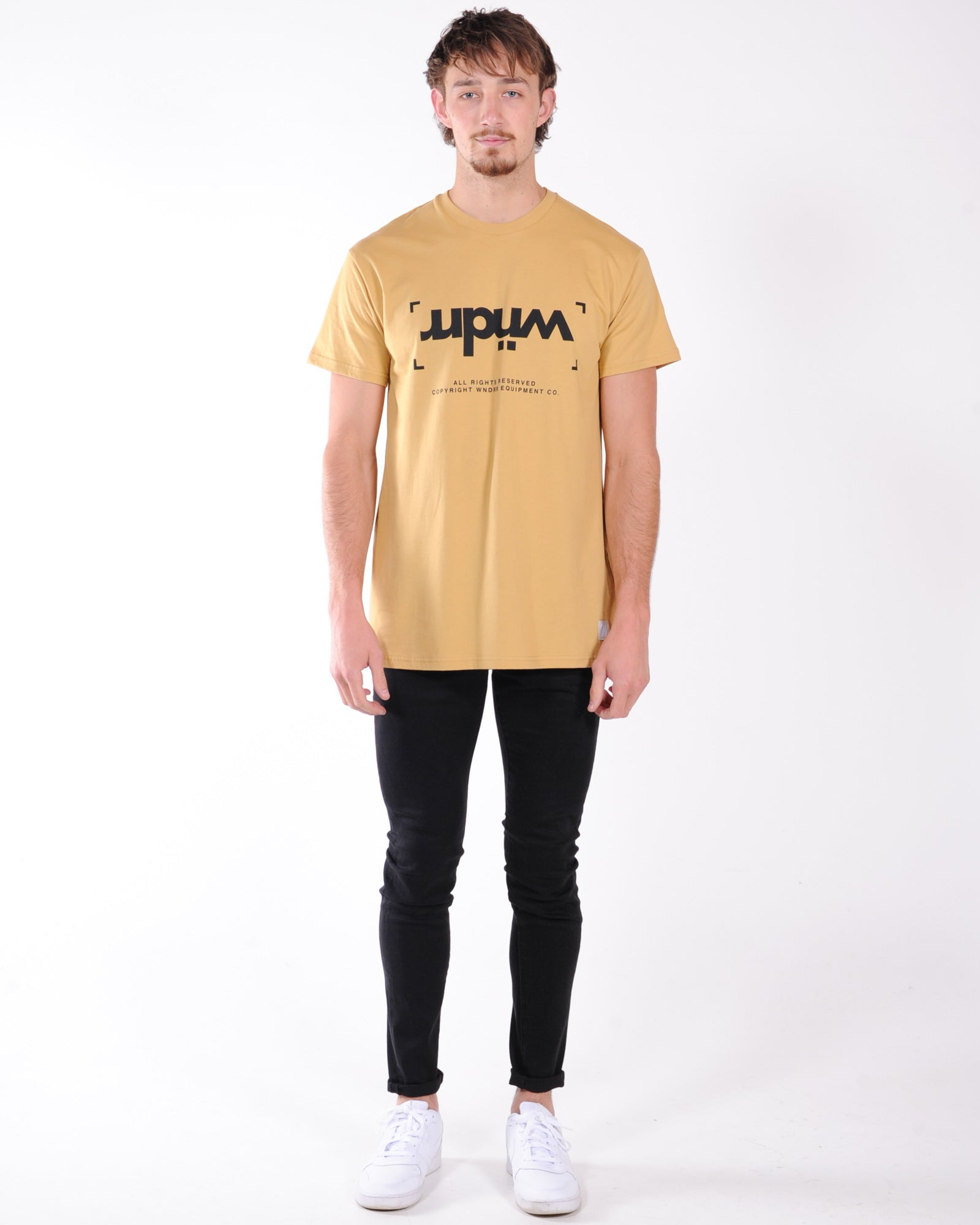 Wndrr Unlocked Custom Fit Tee - Almond