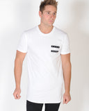 DEAD PRESIDENTS TOMMY TALL TEE - WHITE