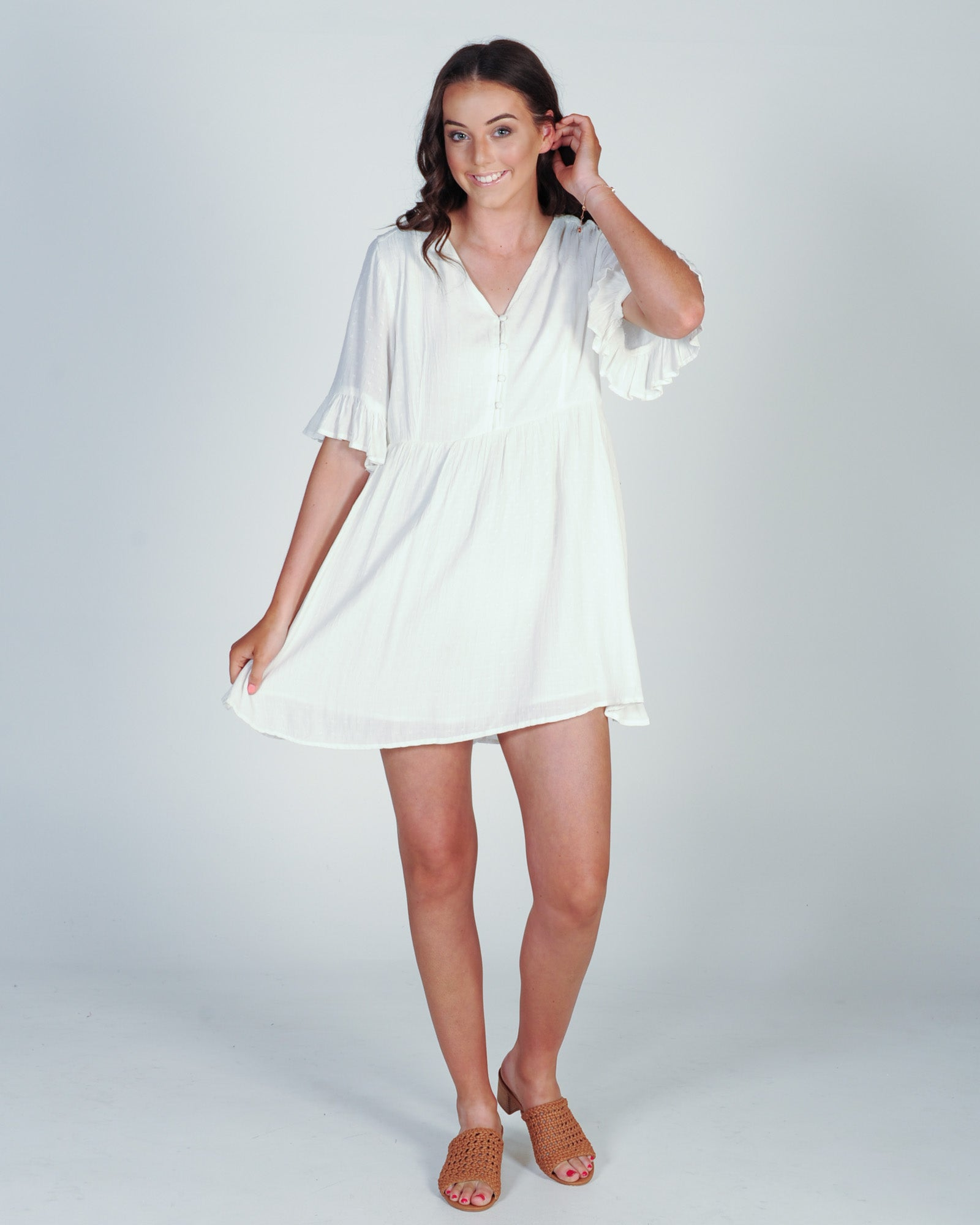 All About Eve Gabriella Dress - White