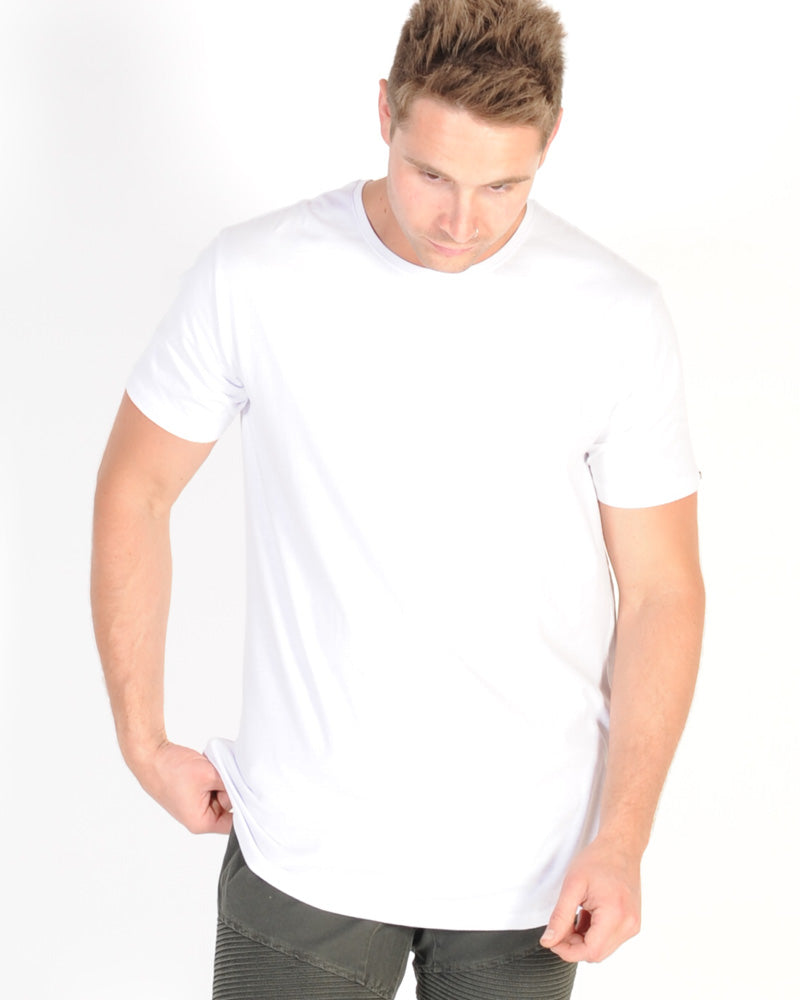 Silent Theory Acid Tail Tee - White