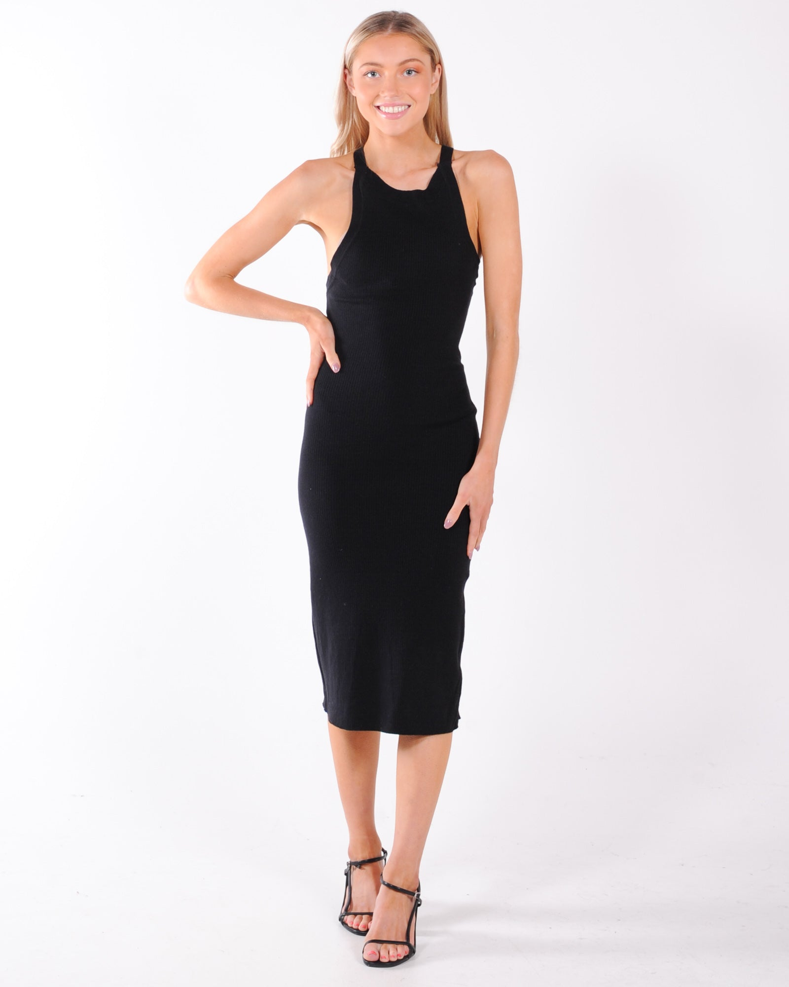 Sndys Lucid Knit Dress - Black