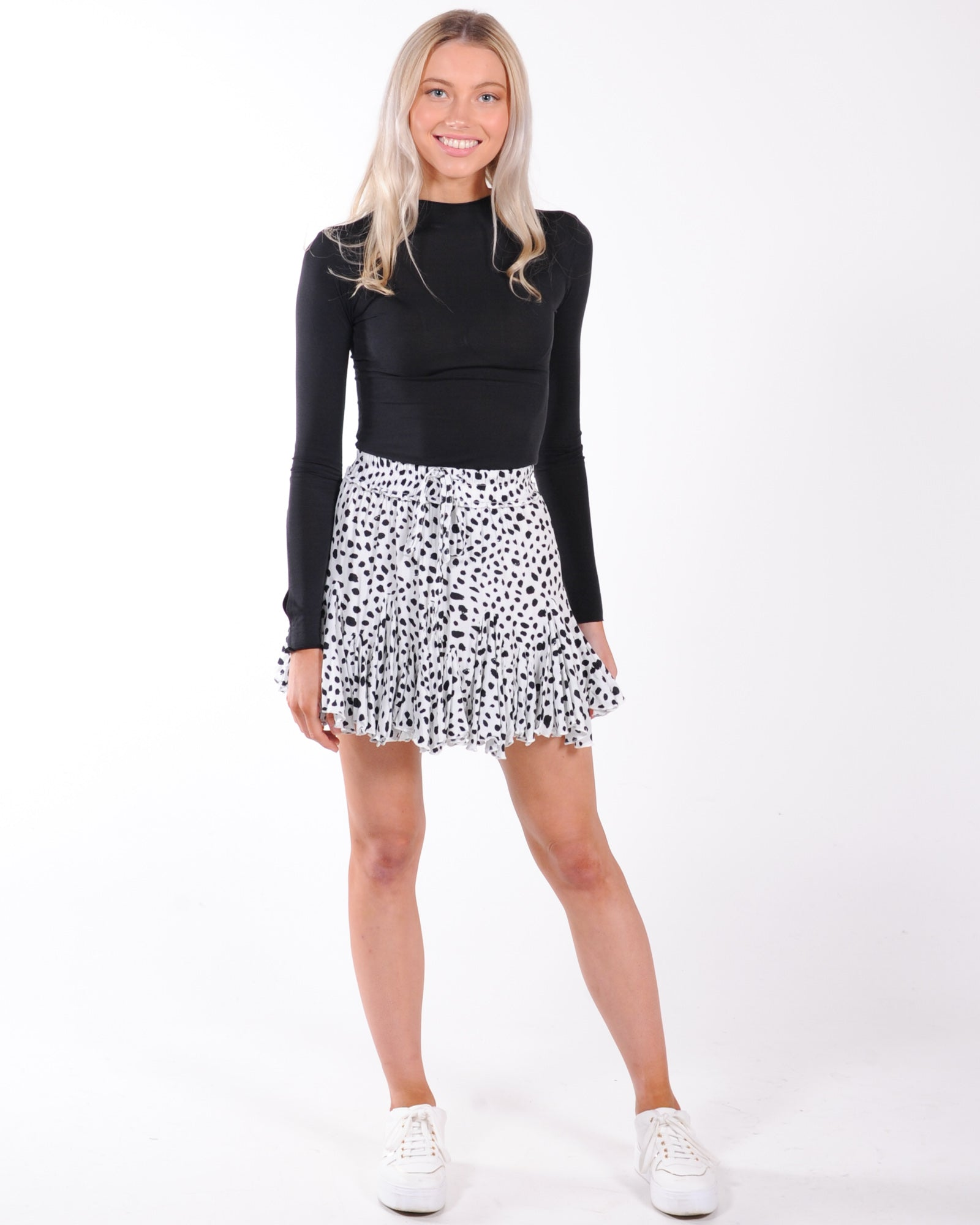 Take Me There Skirt - White