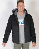 INDUSTRIE IDAHO JACKET - BLACK/CHARCOAL