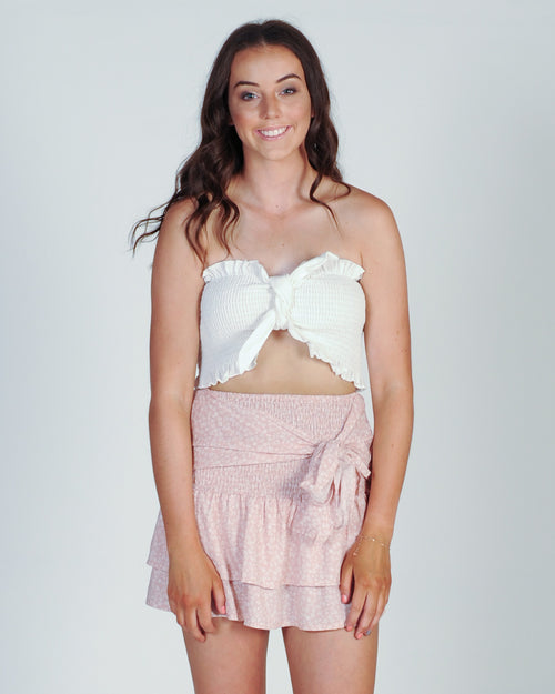 Playing With Fire Skirt - Pink