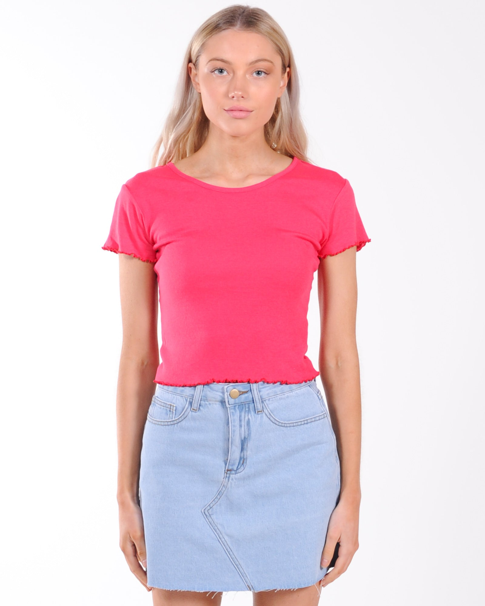 All About Eve Take You Away Tee - Rose