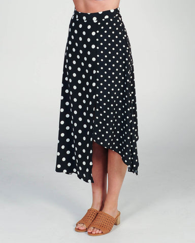 The Fifth Label Campus Skirt - Berry/Black