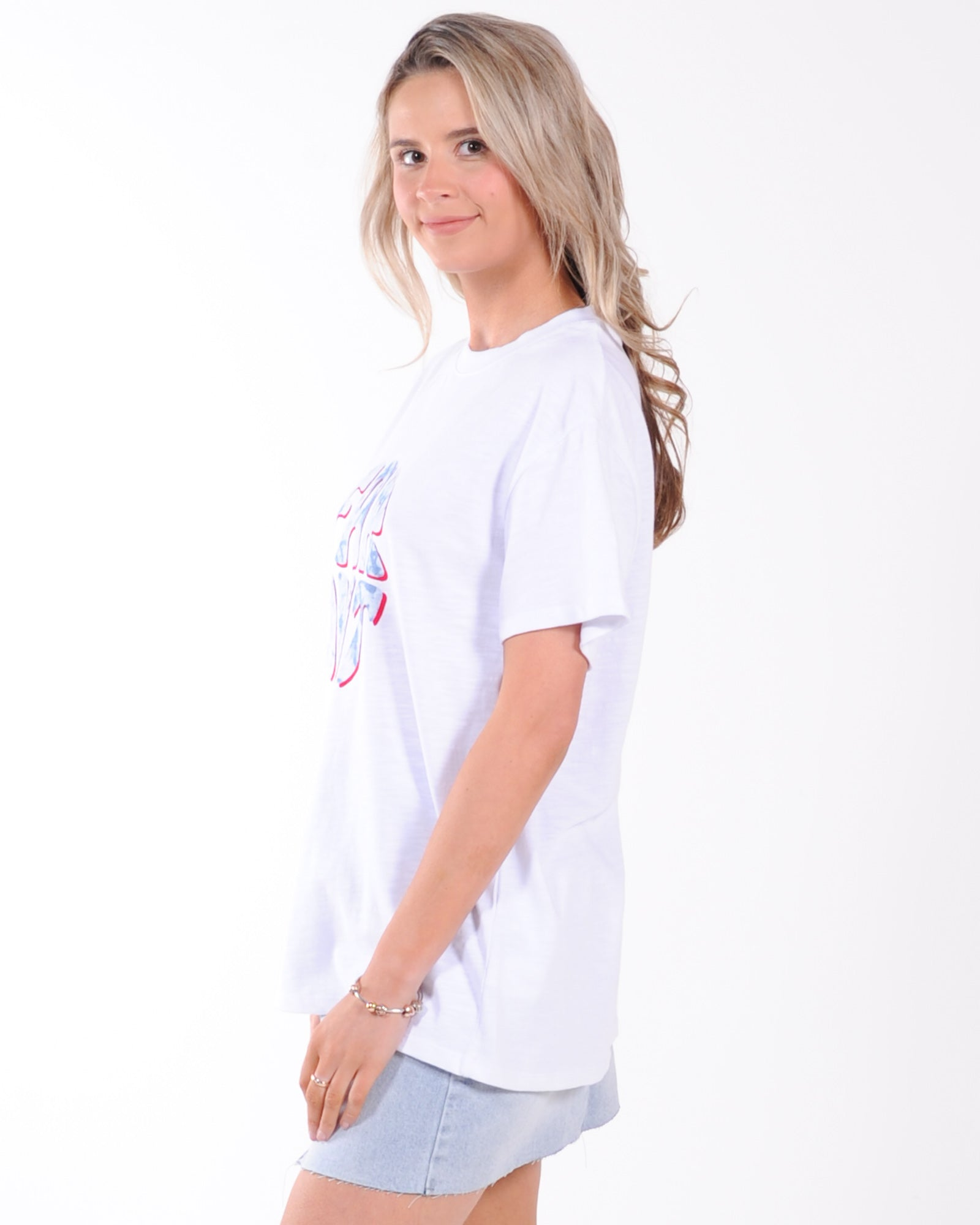 All About Eve Far Out Tee - White