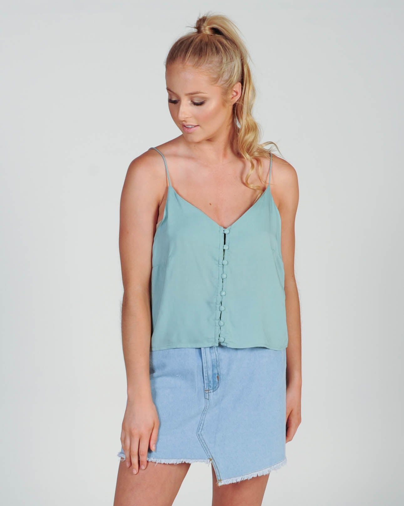 All About Eve Intermission Cami - Mint