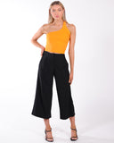HIGH WAISTED MIAMI JEAN - BLACK