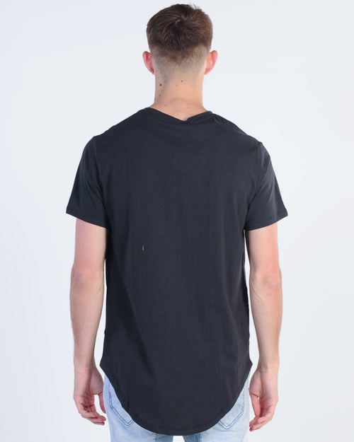Kiss Chacey Primary Tee - Jet Black