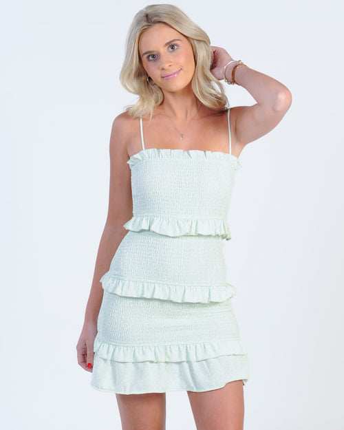 Summer Runaway Dress - Mint Spot