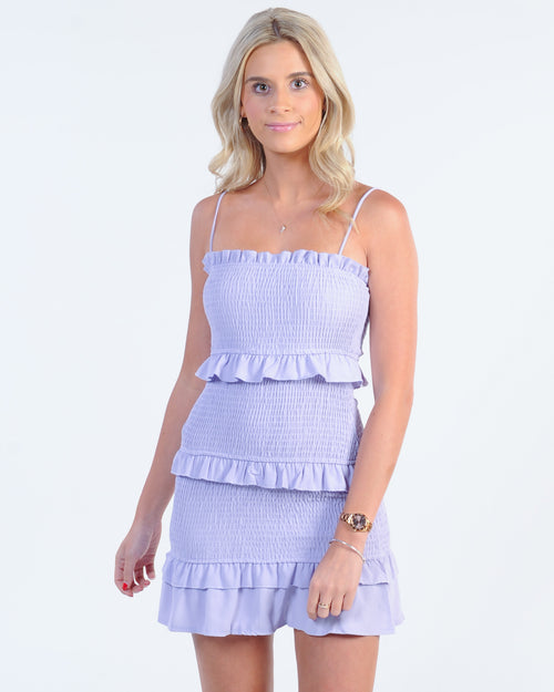 Summer Runaway Dress - Lilac