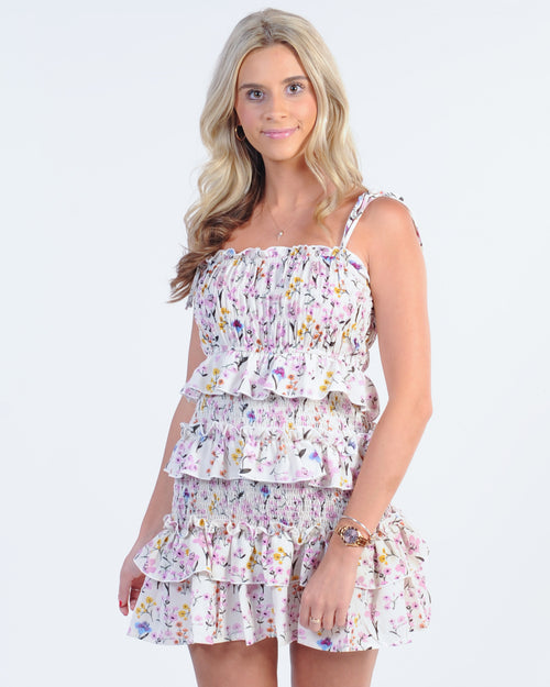 Vacay Mode Dress - Pink Floral