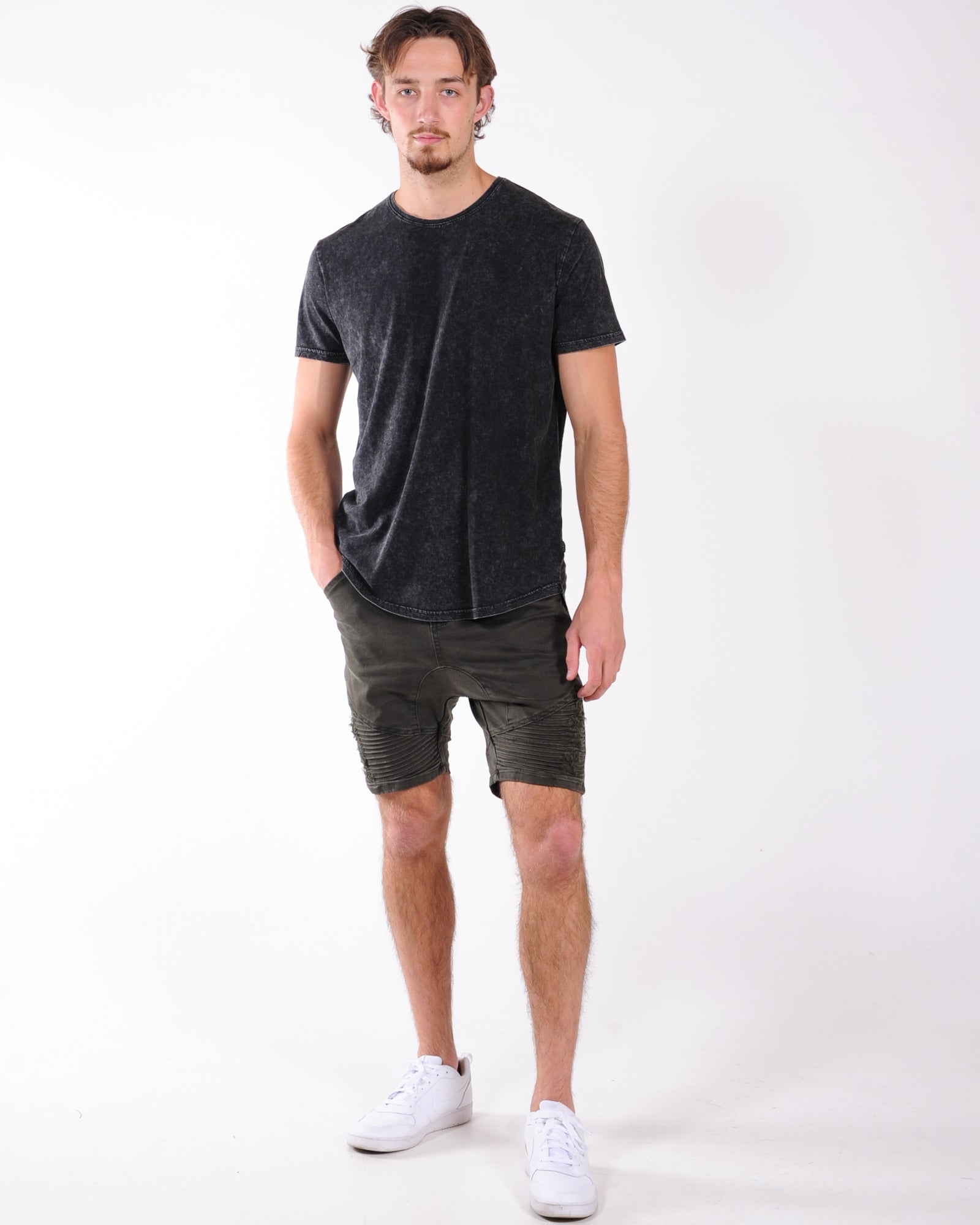 Silent Theory Outlaw Short - Trashed Khaki