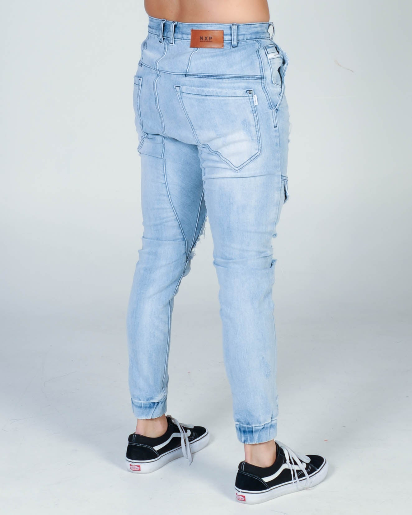 Nena & Pasadena Flight Pant - Broken Blue