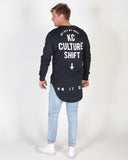 KISS CHACEY CULTURE SHIFT LS TEE - JET BLACK