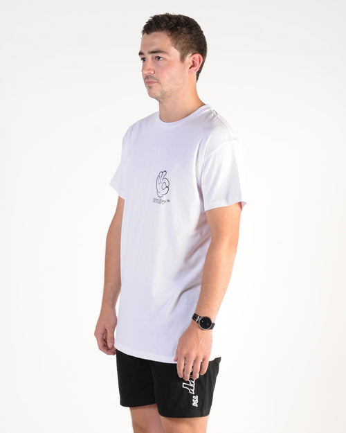 Wndrr Cool Custom Fit Tee - White