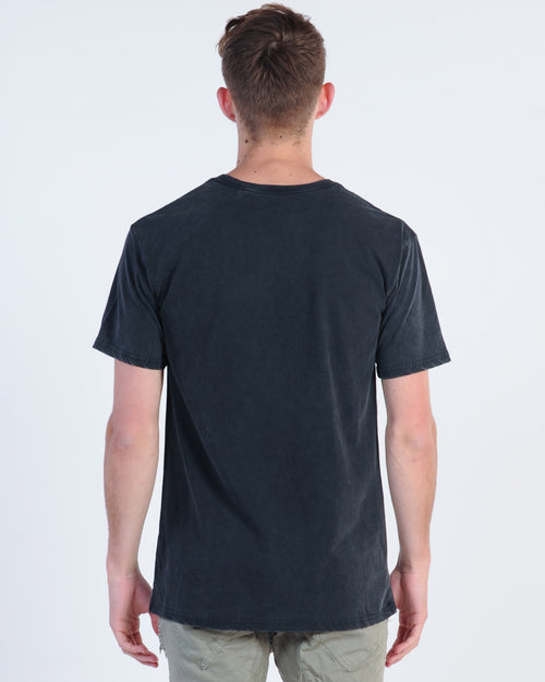 Sunnyville Van Tee - Washed Black