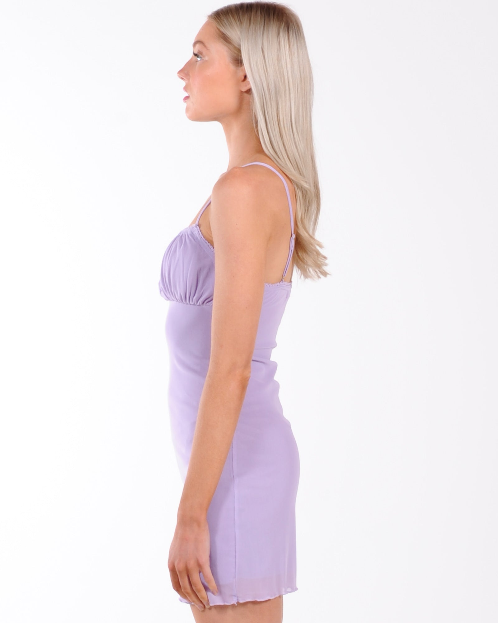 Girls Back In Town Dress - Lilac