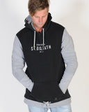 ST. GOLIATH TURNPIKE HOODY - BLACK