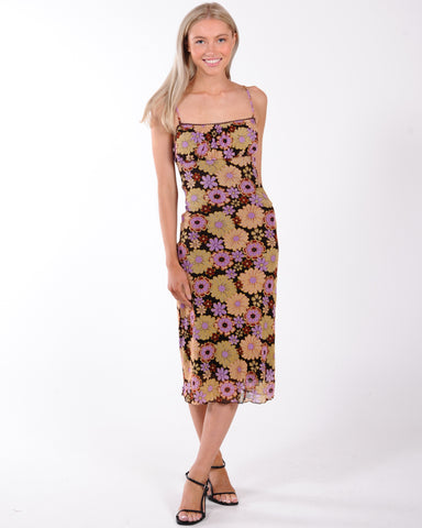 Sunday Best Floral Dress - Floral