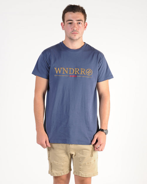 Wndrr Equip Custom Fit Tee - Navy