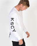KISS CHACEY CHOSEN FEW LS TEE - WHITE