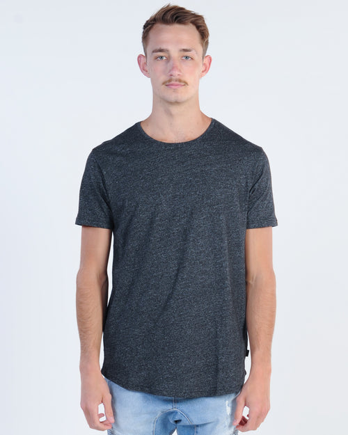 Silent Theory Theory Tail Tee - Char Marle
