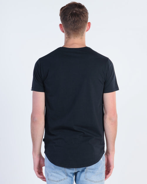 Silent Theory Theory Tail Tee - Faded Black